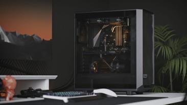 Корпус Fractal Meshify 2 Compact рассчитан на платы размером mini-ITX, mATX и ATX