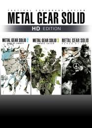 Обложка игры Metal Gear Solid HD Collection