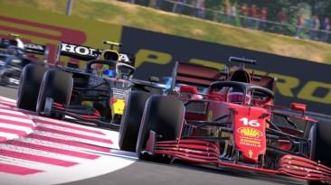 F1 2021 продолжает лидировать в британском розничном чарте
