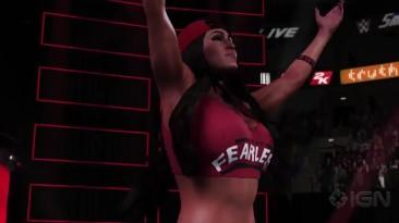 Появился первый геймплейный трейлер WWE 2K18