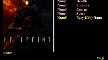 Hellpoint: Трейнер/Trainer (+5) [1.03: GoG] {Abolfazl.k}