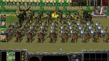 "Warcraft 3 TFT ""Карта - The Battle of Troy"""