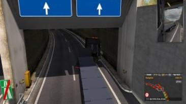 """Euro Truck Simulator 2 """"MILANO TUNNEL FIX FOR PROMODS 2.43 1.36.X"""""""