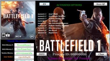 Battlefield 1: Трейнер/Trainer (+9) [1.0.47.30570] {MaxTre}