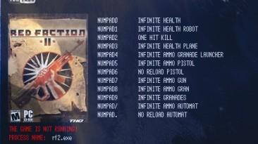 Red Faction II: Трейнер/Trainer (+12) [1.01] {LIRW / GHL}