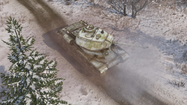 Обновление для Men of War II: Arena - зимние скины для техники, новая модель Гаубицы M114 и многое другое