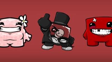 """Подробности и скриншоты режима """"гонка"""" из Super Meat Boy, информация о цене и размере игры"""