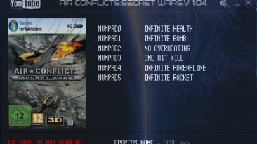 Air Conflicts: Secret Wars: Трейнер/Trainer (+6) [1.04] {LIRW / GHL}