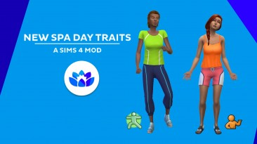 "The Sims 4 ""Новые черты для СПА / New Spa Day Traits"""