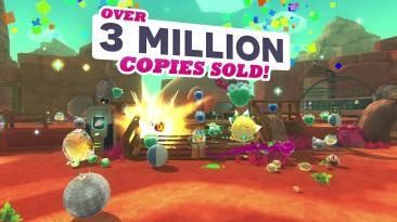 Симулятор разведения няшных слаймов Slime Rancher разошёлся тиражом 3 миллиона копий