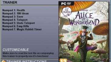 Alice in Wonderland: Трейнер (+5) [1.0] {CheatHappens}