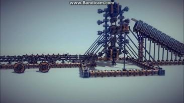 Самая сложная машина в Besiege