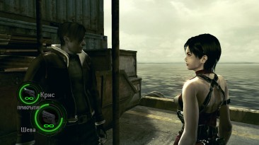 """Resident Evil 5 """"Леон из RE4 на замену Криса Сафари/ Leon from RE4 to Chris safari"""""""