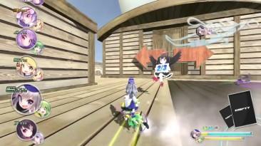 16 минут геймплея Touhou Project Genso Skydrift