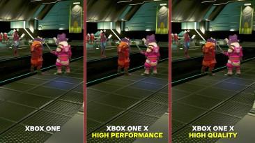 No Man's Sky NEXT Сравнение графики: Xbox One X vs. Xbox One