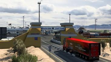 "Euro Truck Simulator 2 ""Карта Red Sea Map v1.3 - Дорога в Судан (1.40.x)"""