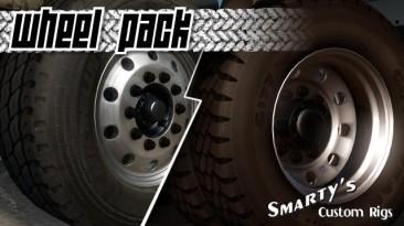 """American Truck Simulator """"Мод Smarty Wheels Pack версия 1.2.6 от 20.08.18 (v1.6.x, - 1.32.x)"""""""