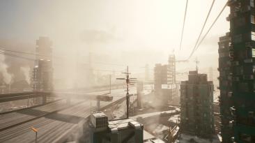 Мод Climate Change для Cyberpunk 2077 делает погоду более разнообразной