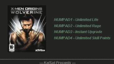 X-Men Origins - Wolverine: Трейнер (+4) [1.0] {KelSat}