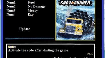 SnowRunner: Трейнер/Trainer (+4) [4.7] {Abolfazl.k}