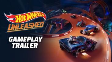 Демонстрация игрового процесса Hot Wheels Unleashed