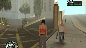 """Grand Theft Auto: San Andreas """"Охота за Сиджеем вьетнамскими работорговцами (SA) 1.0"""""""