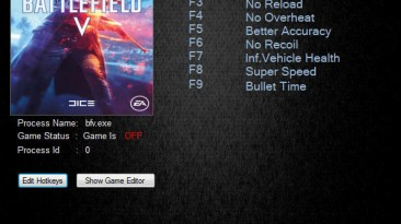 Battlefield V: Трейнер/Trainer (+10) [23736] {MrAntiFun}