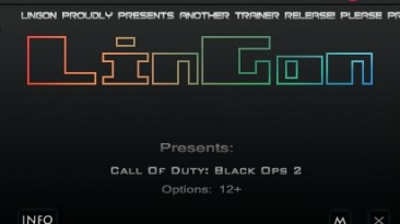 Call of Duty ~ Black Ops 2: Трейнер/Trainer (+6) [Update 2013 ~ Zombie Mode] {LinGon}