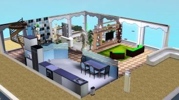 """The Sims 3 """"Хаусбот Аквариум"""""""