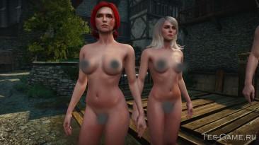 """Witcher 3: Wild Hunt """"Реплейсер женских тел"""""""