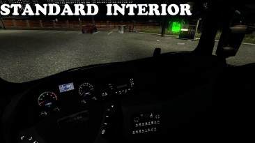 """ETS 2 """"Мод Reworked Interior for MAN TGX v1.0"""""""