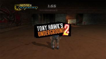 "Tony Hawk's Underground 2 ""Widescreen fix"""