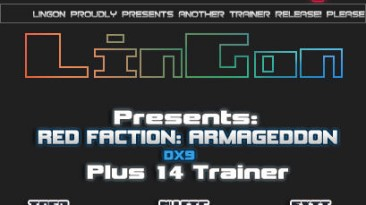 Red Faction - Armageddon: Трейнер (+14) [1.0 - DX9 & DX11] {LinGon}