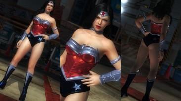 "Dead or Alive 5: Last Round ""WONDER WOMAN - INJUSTICE 2 DC MOD"""