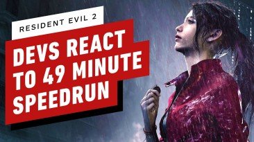 Реакция разработчиков Resident Evil 2 на спидран своей игры за 49 минут