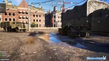 Battlefield V Beta Случайные и Весёлые Моменты #2 (Выстрел гранатой, Пьяный Солдат!)
