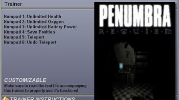 Penumbra: Black Plague - Requiem: Трейнер (+5) [1.0] {CheatHappens}