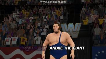 """WWE 2K15 """"Wrestlemania Hulk Hogan vs Andre The Giant"""""""