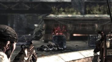 Gears of War. Стрельба по движущемуся кабану