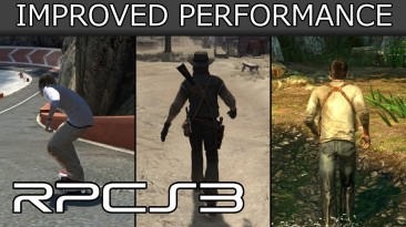 Эмулятор PS3 - улучшение производительности в RDR, GoW 3, MGS4, Uncharted и многих других играх!