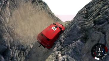 Дорога смерти - Самая опасная карта - BeamNG.drive