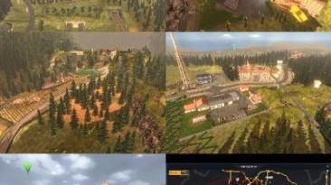 """ETS 2 """"Serpentine Road & House & Long Way Small v9.4"""""""