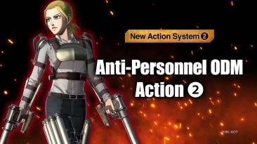 Трейлер Attack on Titan 2 Final Battle - Новые возможности