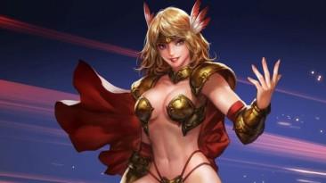 Видео с настройкой персонажа в League of Maidens