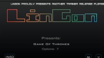 Game of Thrones: Трейнер/Trainer (+7) [1.0] {LinGon}