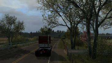 """American Truck Simulator """"Весенняя графика и погода v1.1 (v1.38)"""""""