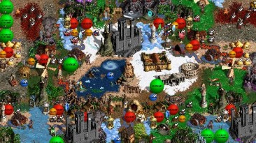 "Heroes of Might and Magic 3: The Restoration of Erathia ""Карта для мода MoP, Heroes of Might and Magic III: Master of Puppets v.3.0"""