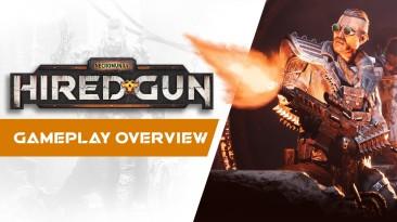 Обзорный трейлер Necromunda: Hired Gun рассказывает о жестоких боях и надежном компаньоне-кибер-мастифе