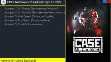 CASE - Animatronics: Трейнер/Trainer (+5) [v1.0: Update 1] [5.3.5.3775] {Enjoy}