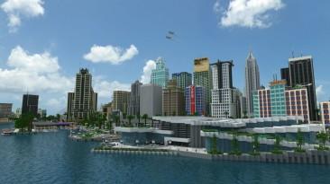 Игроки показали скриншоты города из Minecraft - в течение девяти лет над ним работали 400 человек